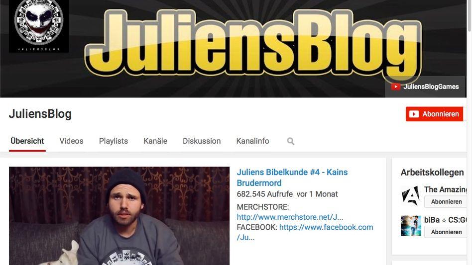 """""""JuliensBlog"""" bei YouTube: Clip über Lokführer wertet Gericht als Volksverhetzung"""