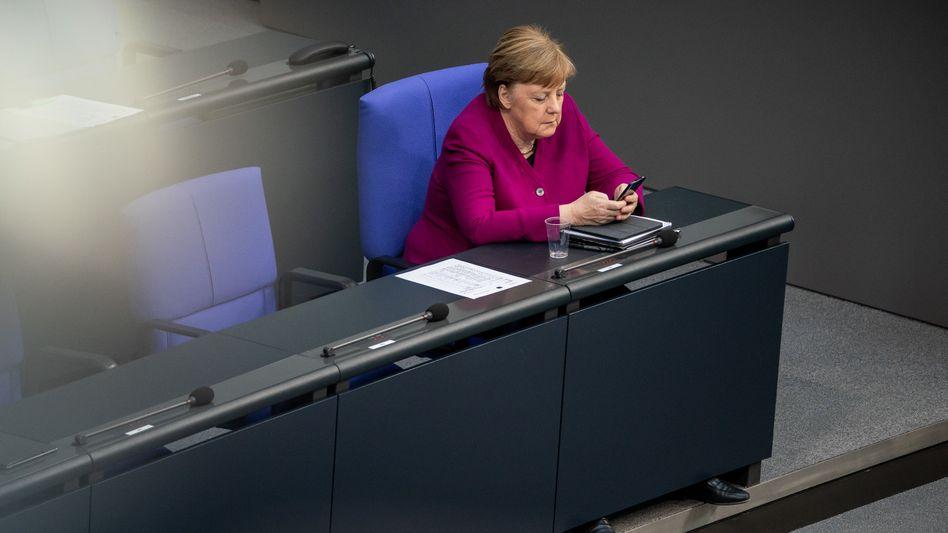 Regierungschefin Merkel