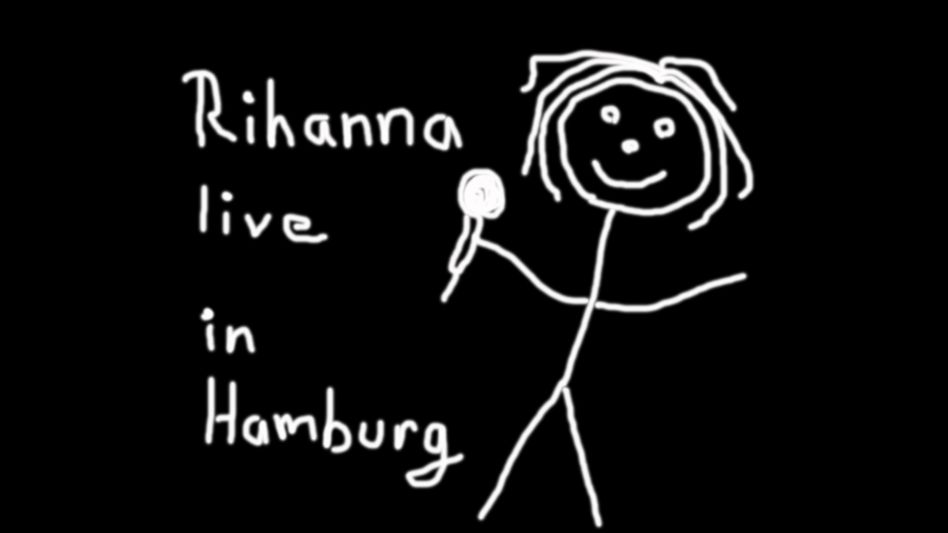 So stellt sich SPIEGEL ONLINE Rihanna in Hamburg vor