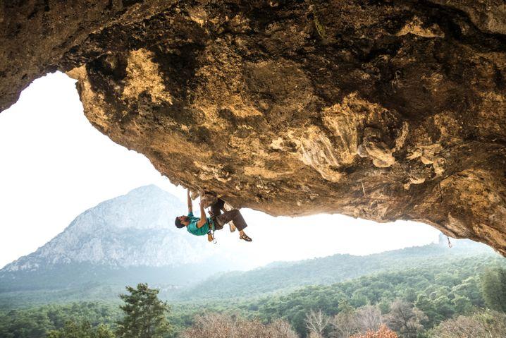 Schön und günstig: Klettern in Geyikbayiri bei Antalya