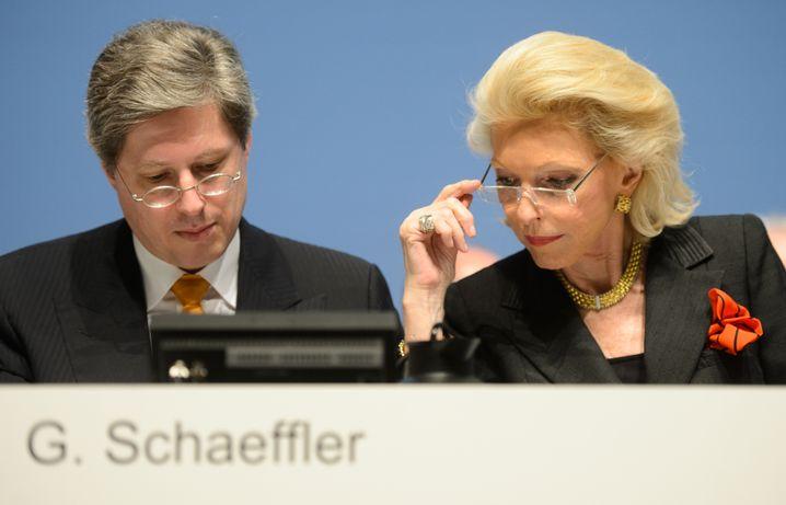 Georg und Maria-Elisabeth Schaeffler: Nach der Fast-Pleite reicher denn je