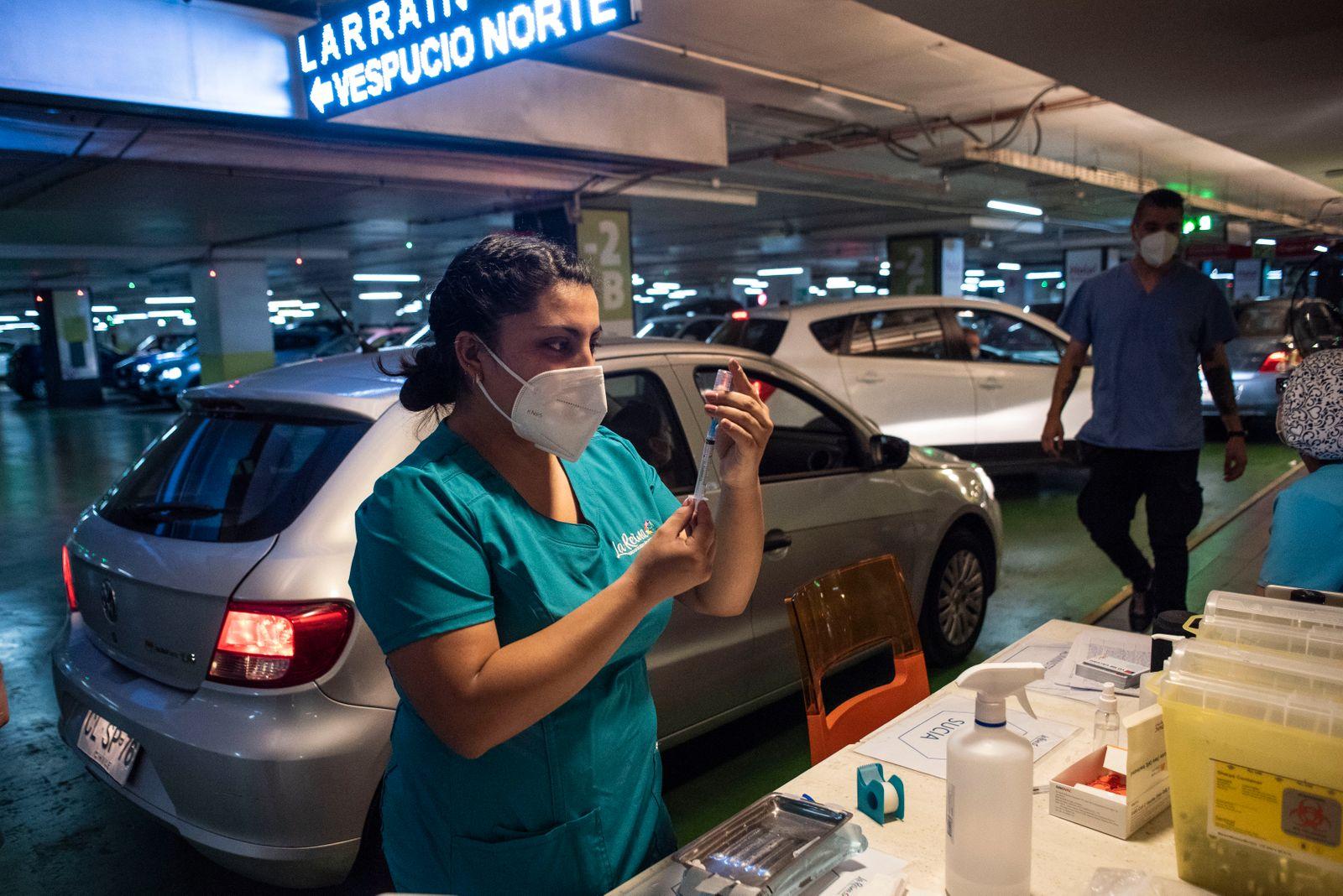Chile Leads Coronavirus Vaccination Race in Latin America