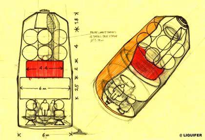 Auf zum Mars: Esa-Studie eines Moduls für den Flug zum Roten Planeten