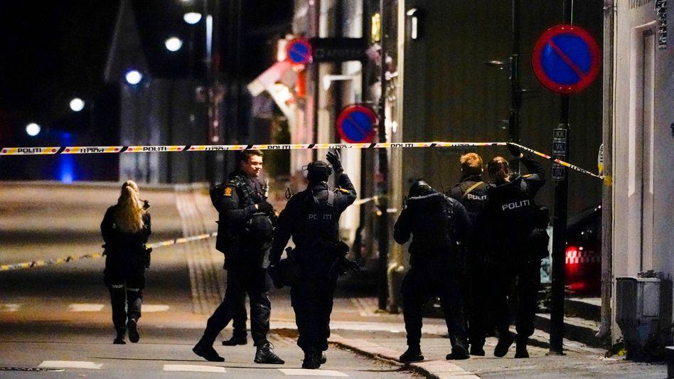 Norwegische Kleinstadt Kongsberg: Mehrere Verletzte und Tote