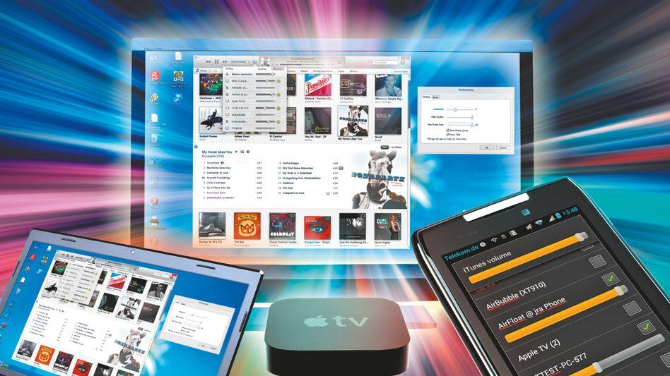 Apple-Standard Airplay: Das System kommt auch mit Windows und Android zurecht