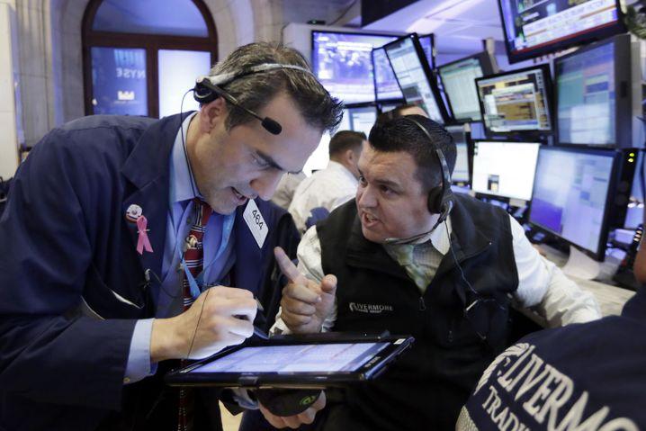 Börsenhändler an der Wall Street: Selten hat es in der Geschichte so viele Banken- und Finanzkrisen gegeben wie seit den Achtzigerjahren
