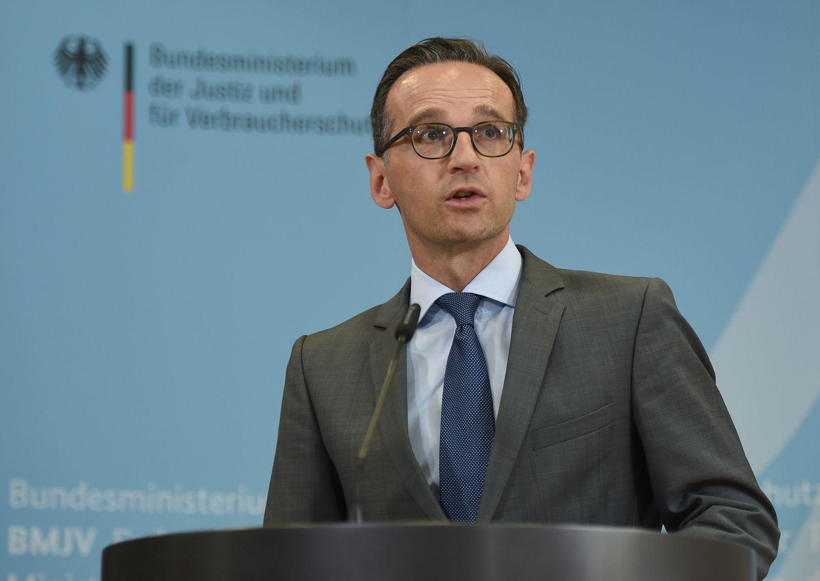 """Heiko Maas gibt Statement zu """"Netzpolitik.org"""""""