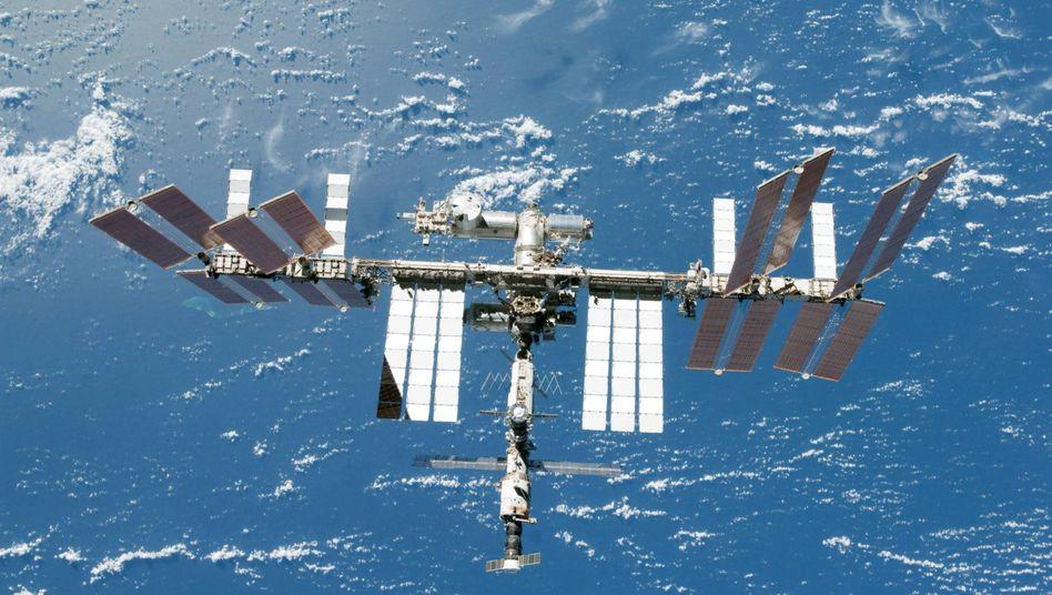 Raumstation ISS (Archivbild): Nachschub unterwegs