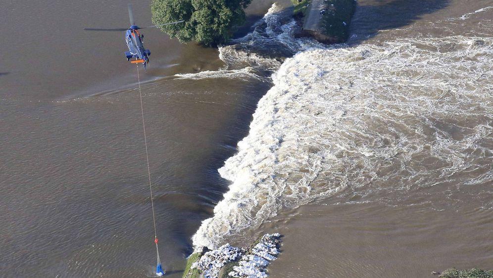 Hochwasser: Alarm an den Deichen