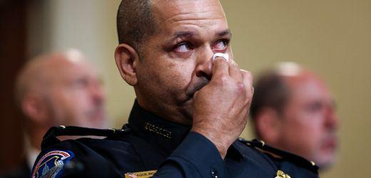 Sturm auf US-Kapitol: Polizisten berichten vor Untersuchungsausschuss über Angriff