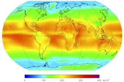 Sonneneinstrahlung 1983 bis 2001: Luft klarer geworden