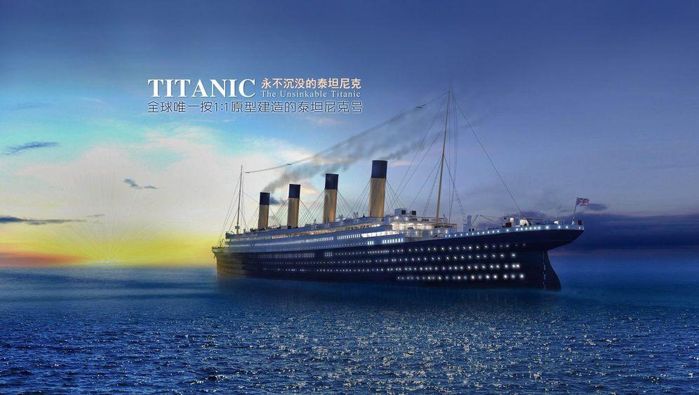 """Start der Bauphase: Chinas """"Titanic""""-Nachbau"""