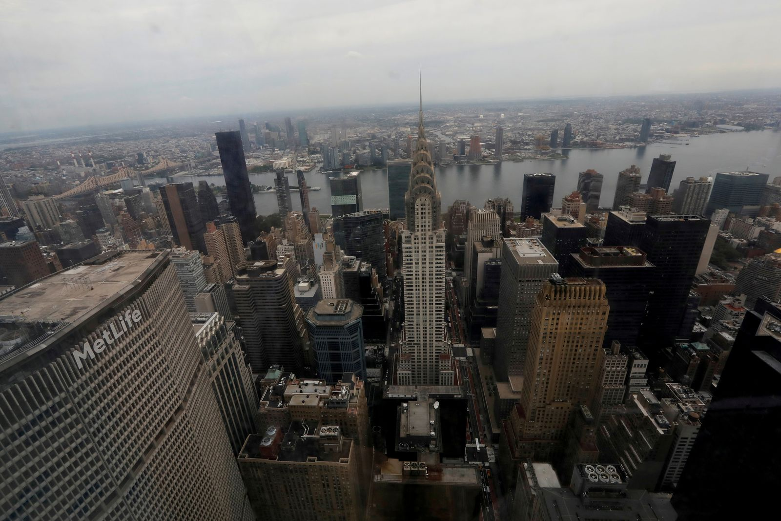 FILE PHOTO: Part of Manhattan's midtown east skyline is pictured in 2020