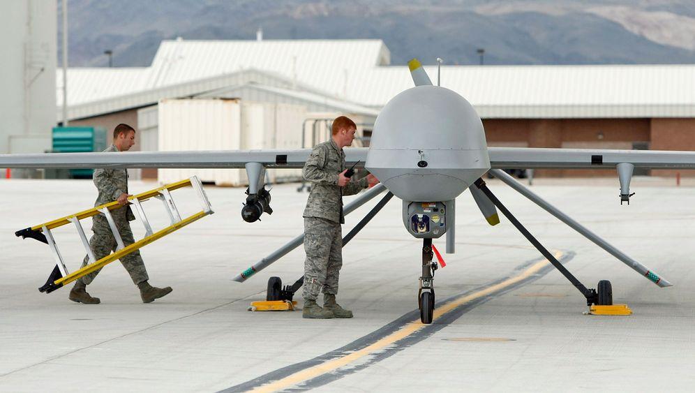 US-Drohnen im Einsatz: Unbemannte Kampfmaschinen