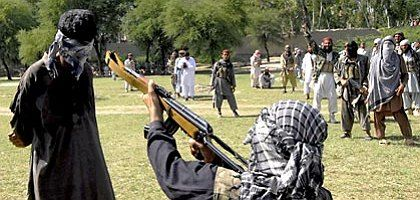 Taliban execute a villager just 26 kilometers outside of Peshawar, Pakistan.