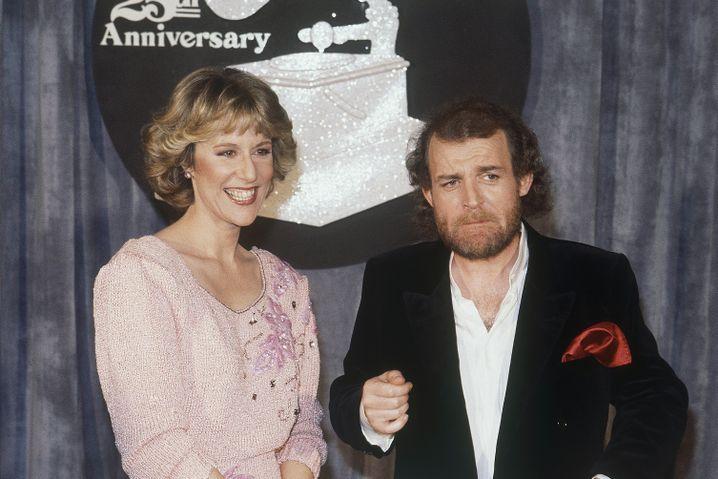 Joe Cocker mit Jennifer Warnes bei der Grammy-Verleihung 1983
