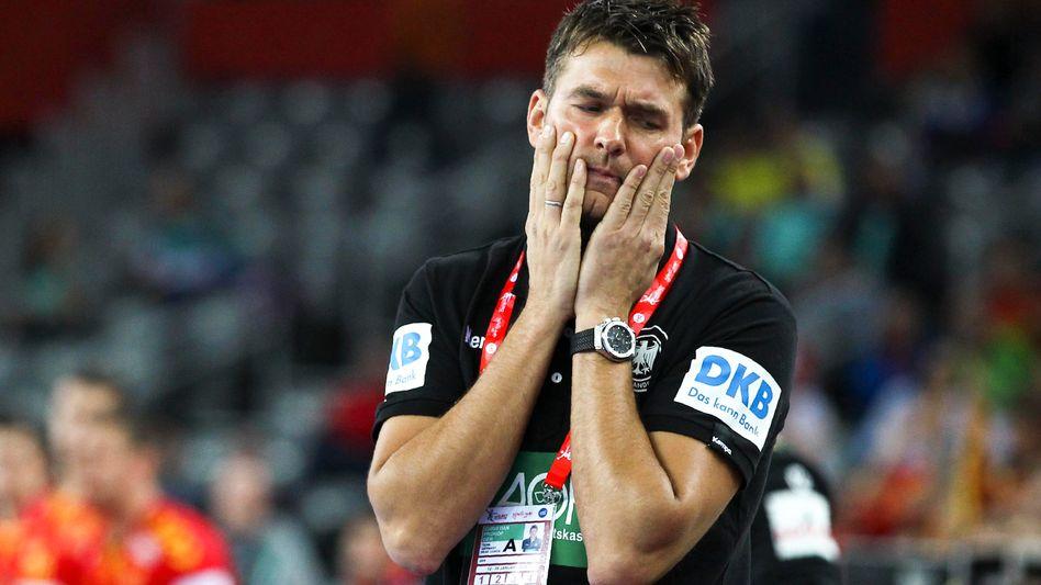 Für Christian Prokop ist nach drei Turnieren Schluss als Handballbundestrainer