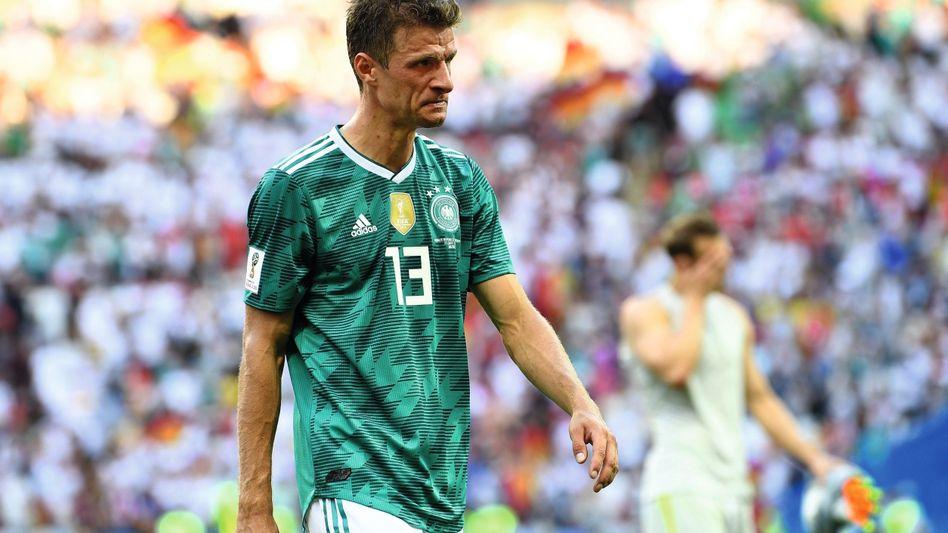 Nationalspieler Müller nach dem Vorrunden-Aus gegen Südkorea: Nichts funktionierte, nicht der Körper, nicht der Geist