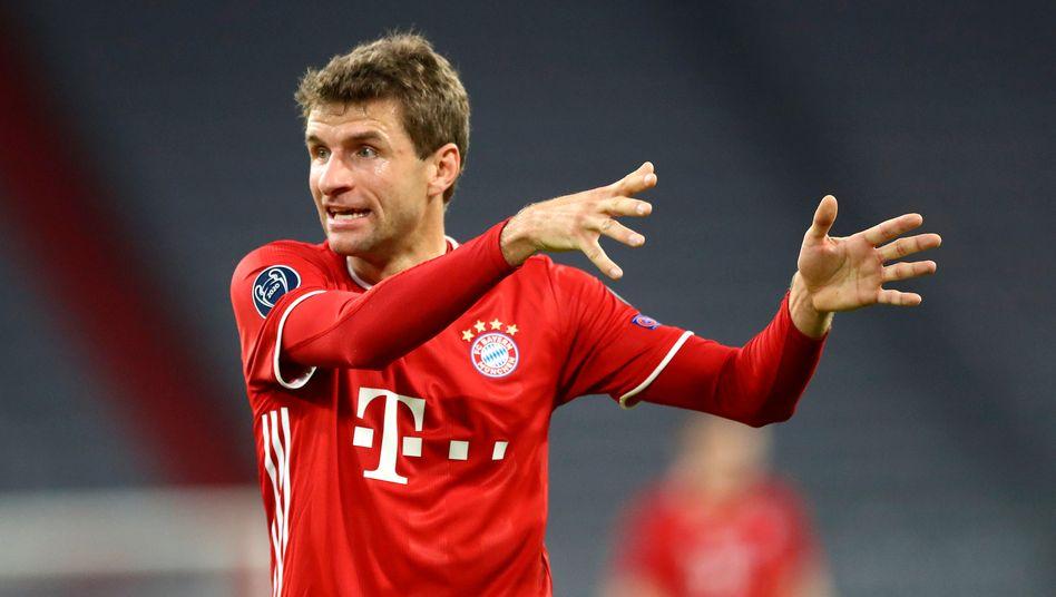 Lautsprecher des FC Bayern und verlängerter Arm des Trainers: Thomas Müller gegen Atlético Madrid