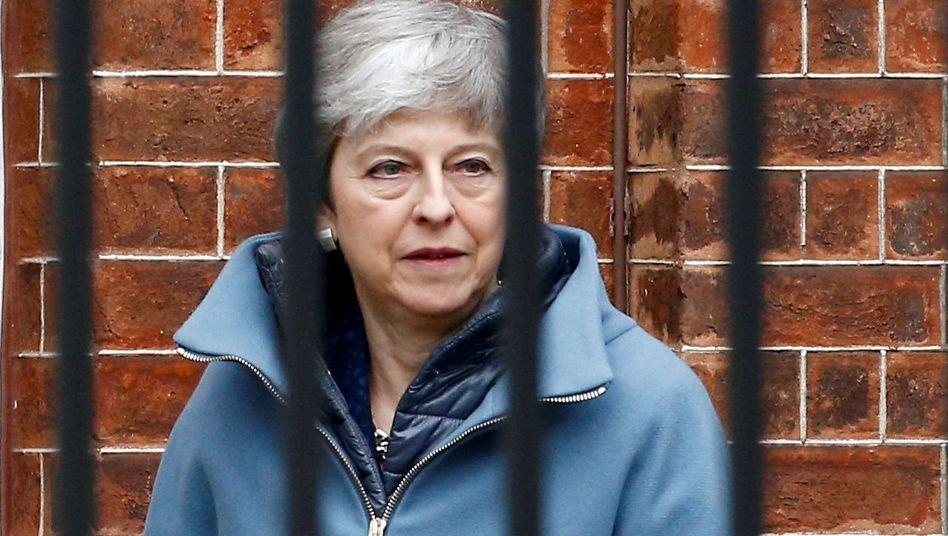 Theresa May könnte ihre letzten Tage an der Downing Street erleben.