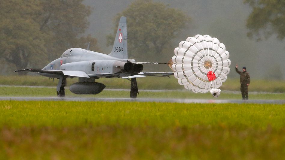 Schweizer F-5-Kampfjet (Archivbild)