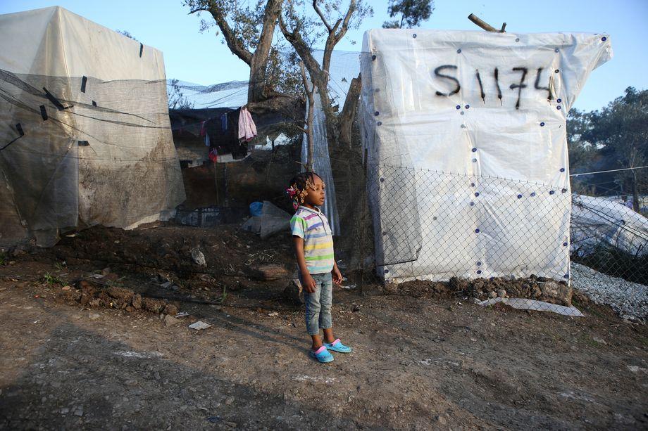 Im Lager leben circa 6000 Kinder