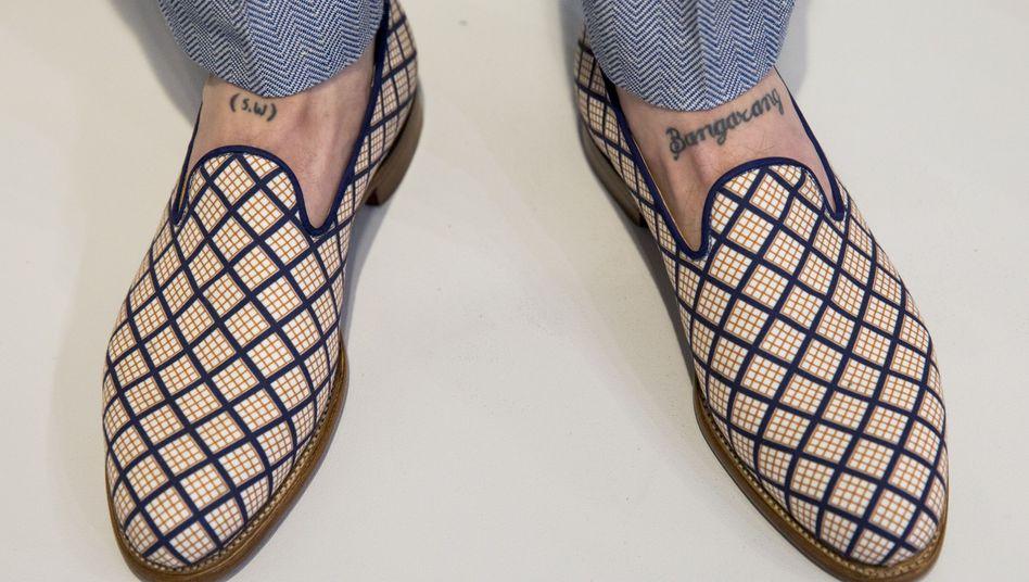 In solchen Schuhen können Sie getrost dinieren - natürlich zu Hause