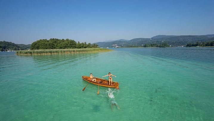 Schöner baden in Österreich: Donau, Achensee, Gipfelpool - platsch!