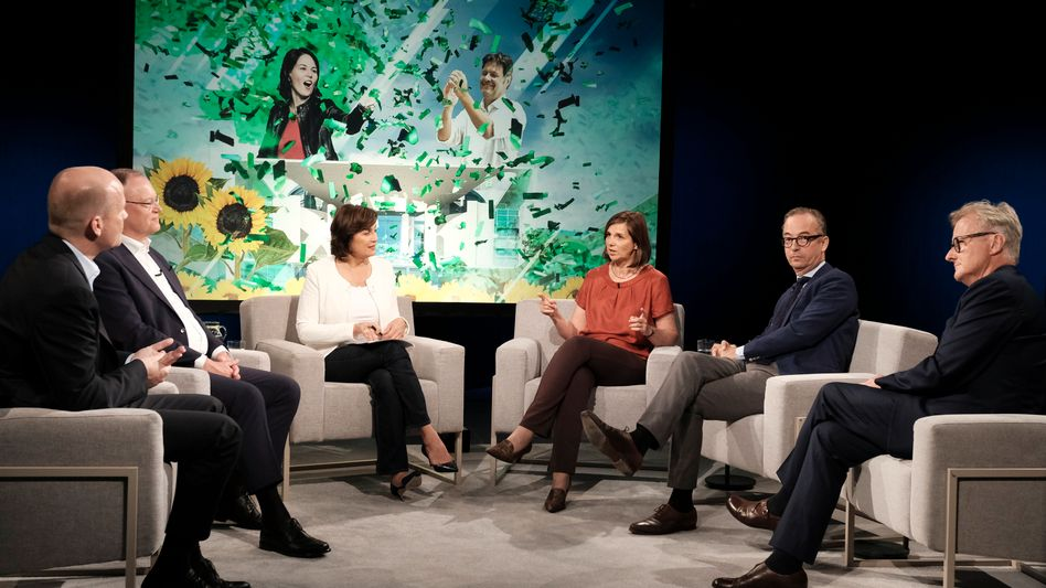 """""""Maischberger""""-Talk über die Krise der SPD"""
