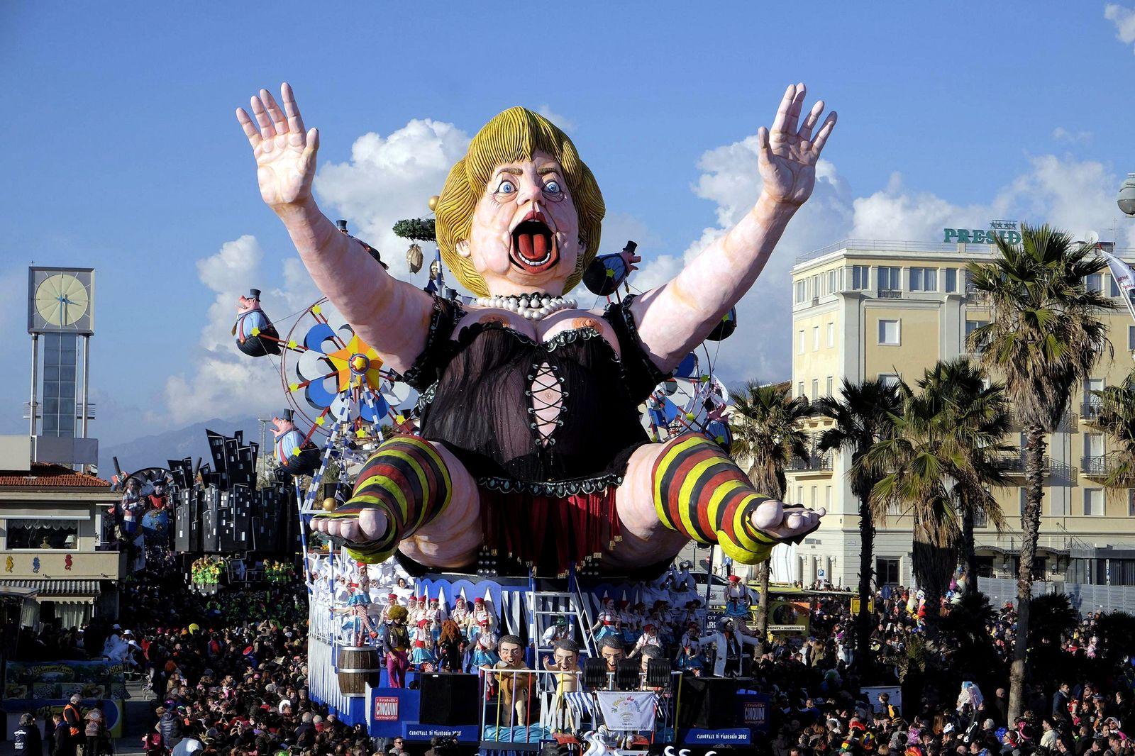 Merkel/ Karneval/ Satire