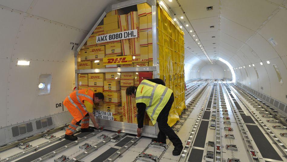Frachtflugzeug in Leipzig: Sorge um Sicherheit