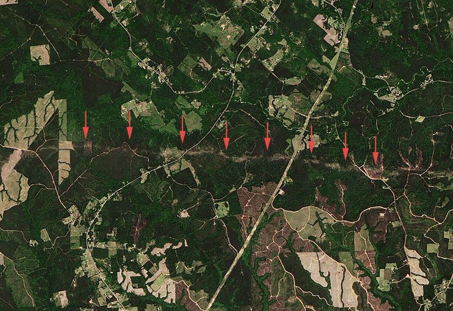 Tornado-Schneise: Eine Superzelle erzeugte mehrere Tornados im Südosten der USA