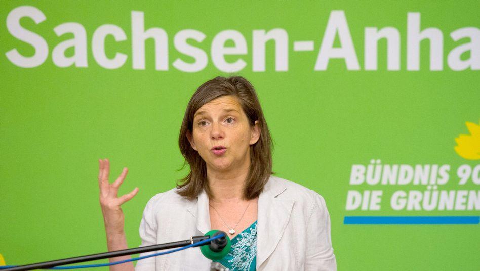 Grüne Fraktionschefin Göring-Eckardt: 800 Millionen Euro für einen Integrationsfonds