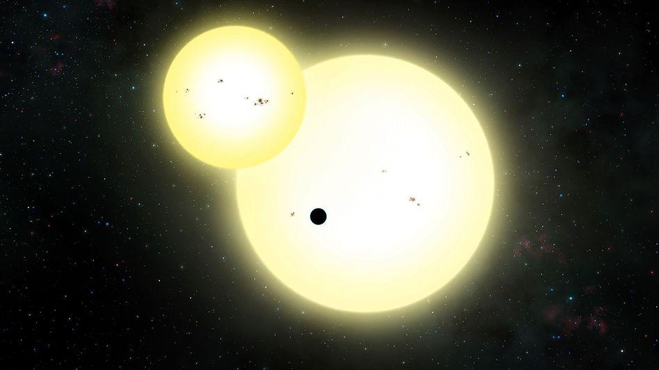 Zeichnung von Kepler-1647b