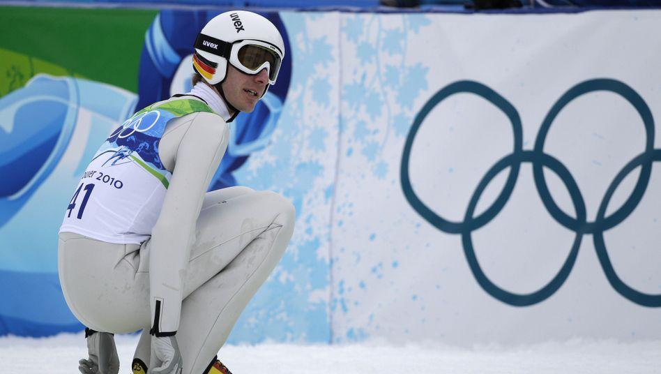 Skispringer Uhrmann: Bronzemedaille knapp verpasst
