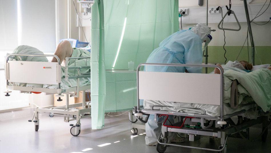 Versorgung von Covid-Kranken in Estland