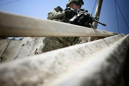 "A US soldier in Iraq: ""Weakness just encourages aggression"""