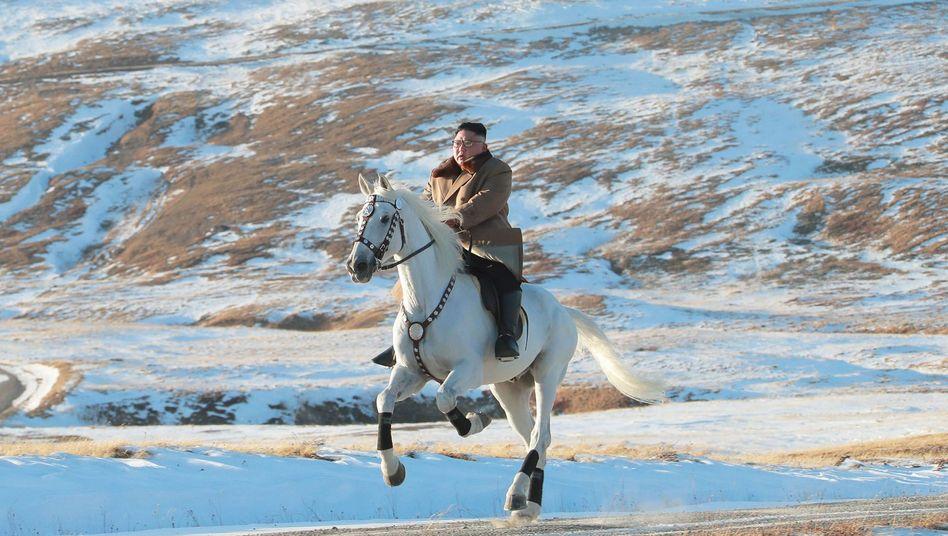 Kim Jong Un: Der Berg Paektu wird in Nordkorea als heilig verehrt