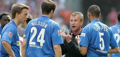 Hoffenheim-Trainer Rangnick: Oft Ärger mit den Medien