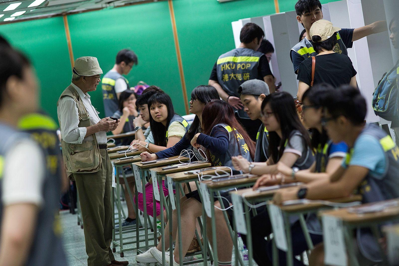 Hongkong / Referendum