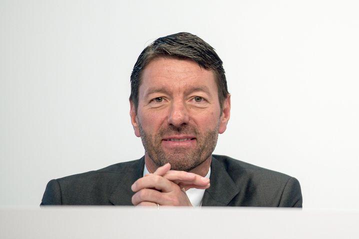 Adidas-Vorstandsboss Rorsted übernimmt nun interimsmäßig den Posten des Personalchefs