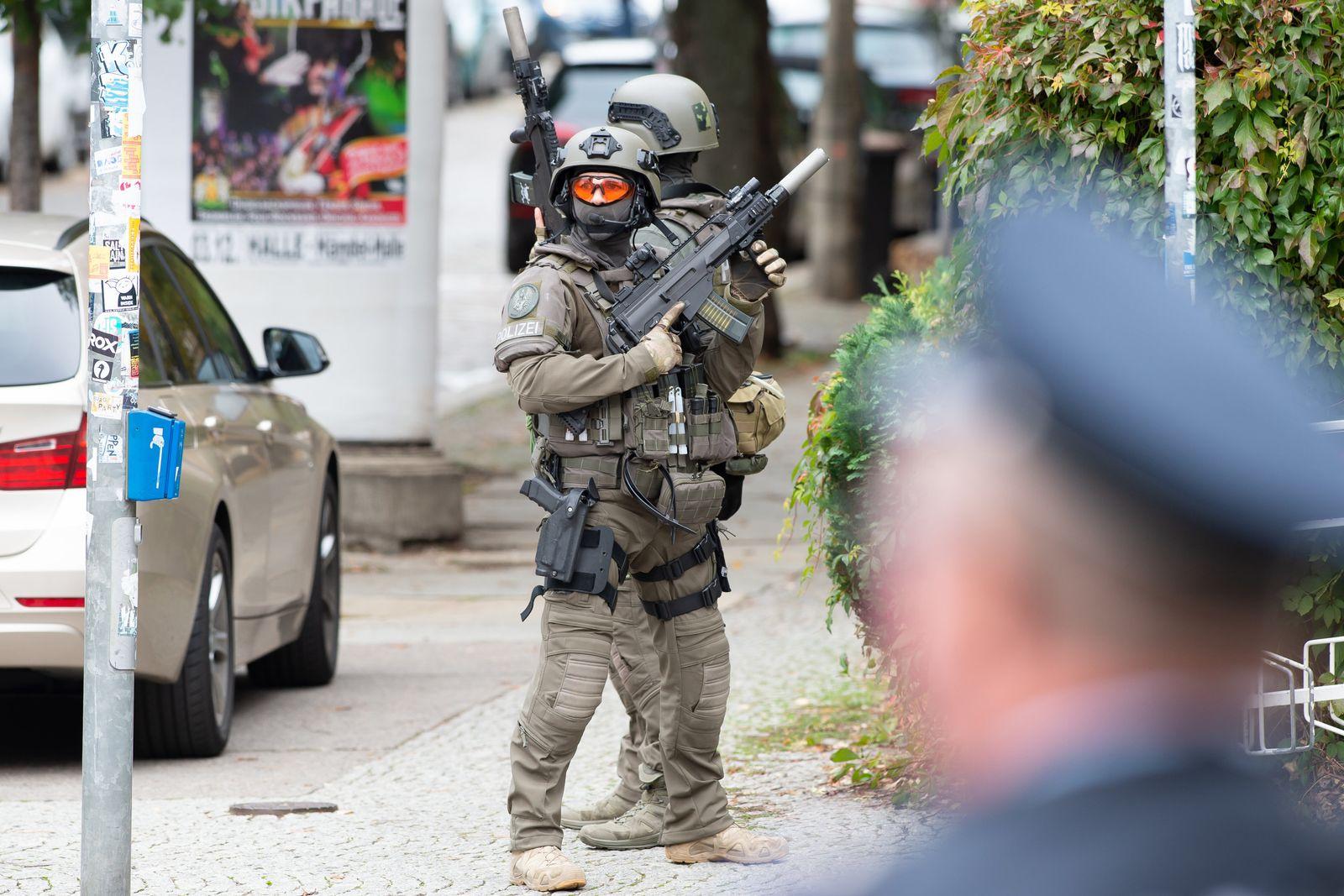 Tote nach Schüssen in Halle/Saale