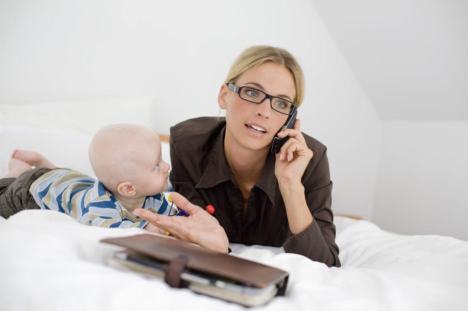 NICHT MEHR VERWENDEN! - Führen in Teilzeit / Büro / Baby / Chefin