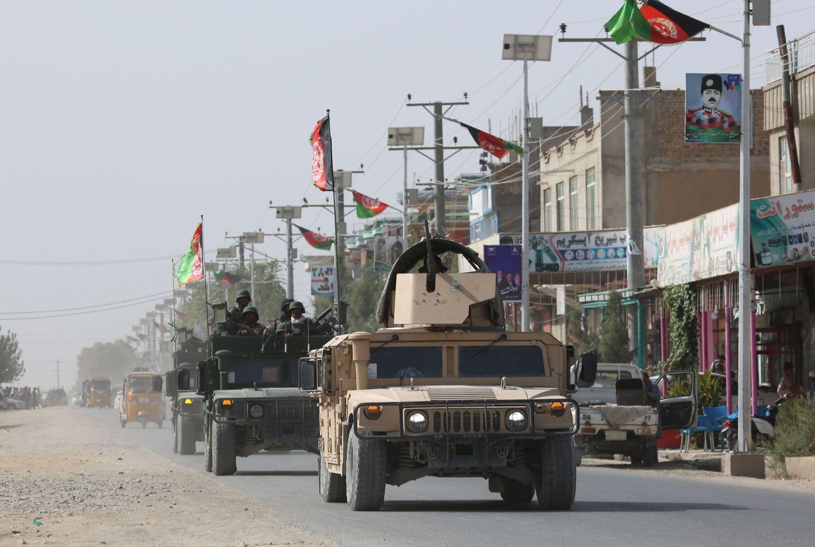 Kundus/ Afghanistan/ Taliban Angriff