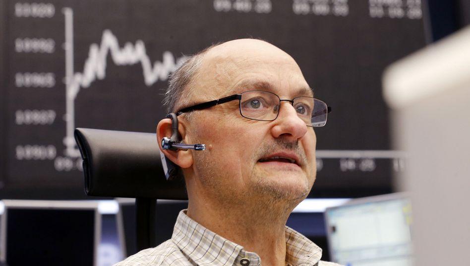 Aktienhändler in Frankfurt: Getrieben vom billigen Geld
