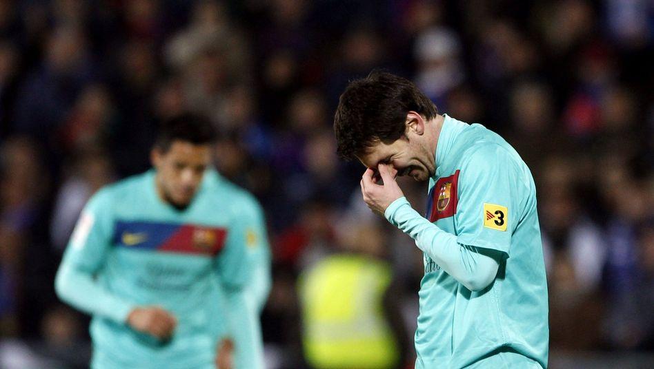 Barça-Superstar Messi: Erste Saisonniederlage