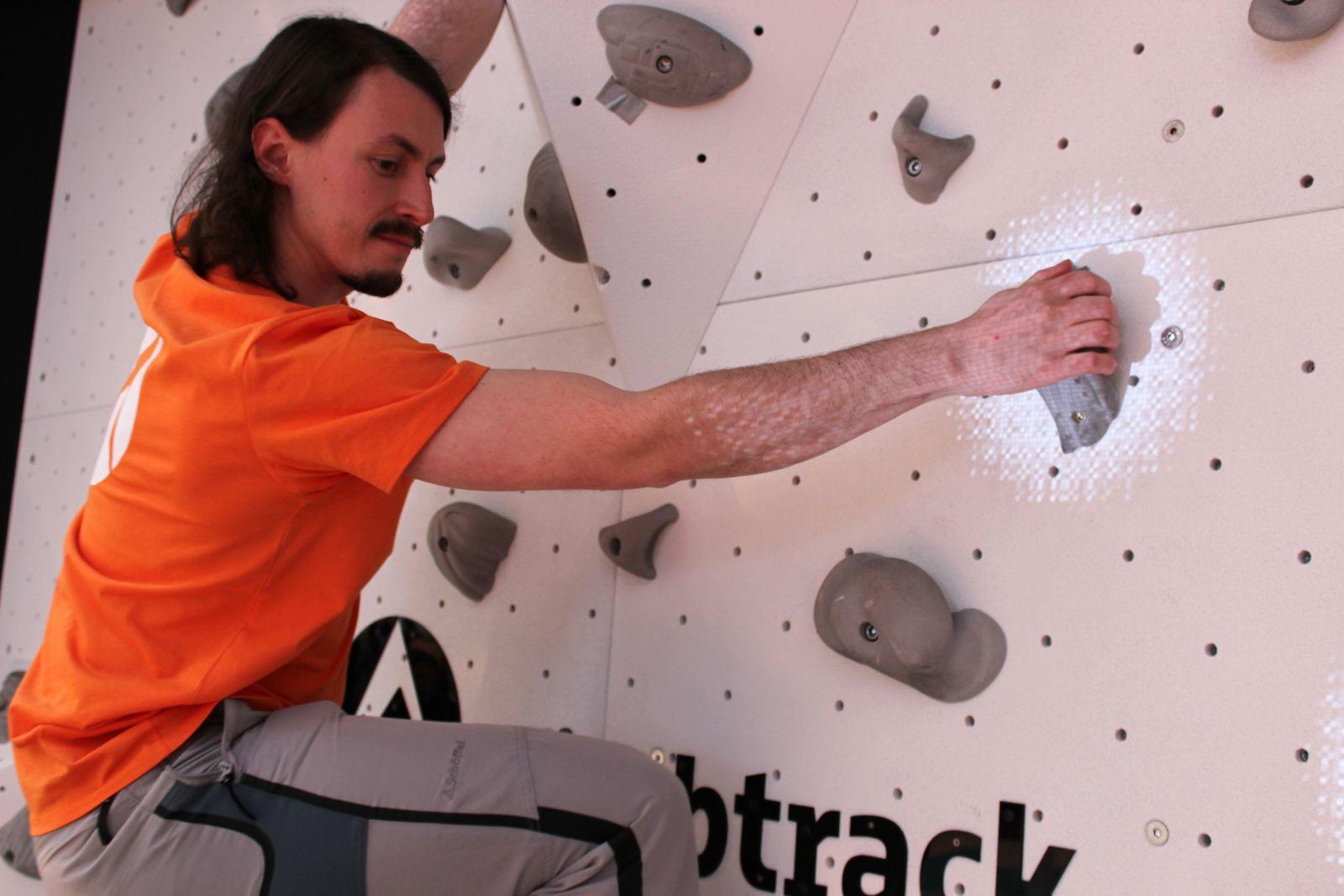 Cebit 2016/ Angela Gruber Bilder/ Climbtrack1