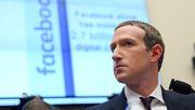 Zuckerberg versucht, Facebook aus der Schusslinie zu ziehen