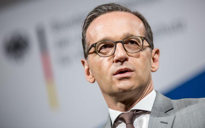"""Justizminister Heiko Maas: """"Wir dürfen den radikalen Hetzern nicht das Feld überlassen. Die schweigende Mehrheit darf nicht länger schweigen."""""""