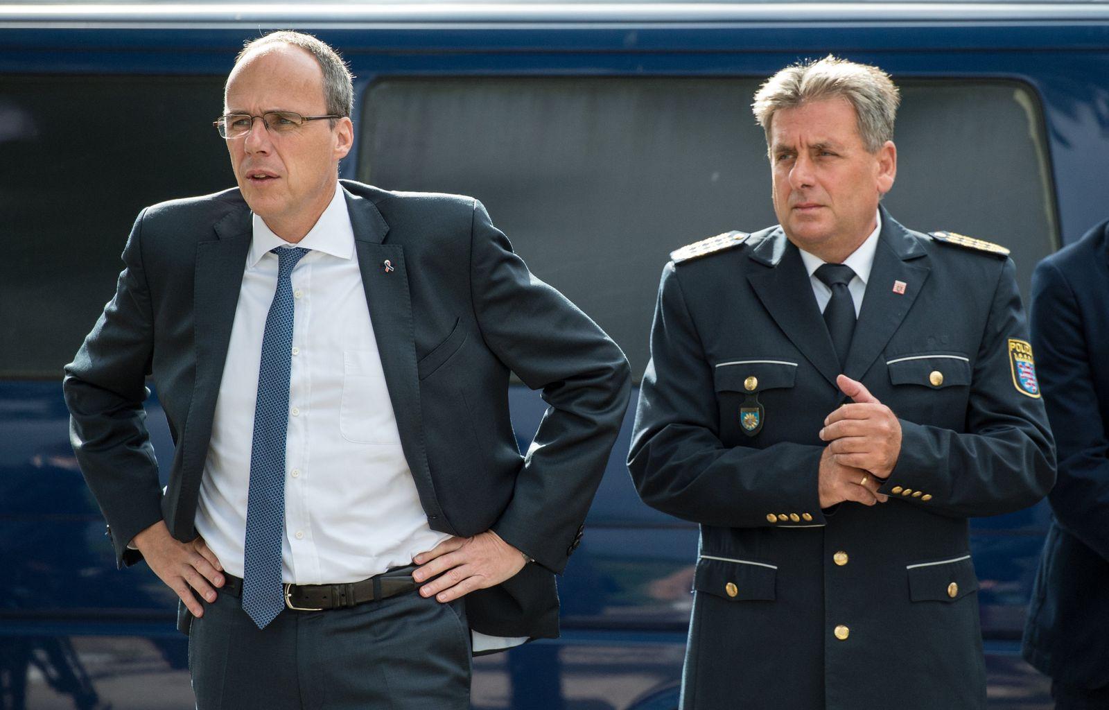 Peter Beuth und Udo Münch